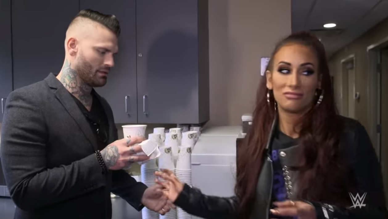 Carmella tips on kissing showing media posts photo 4