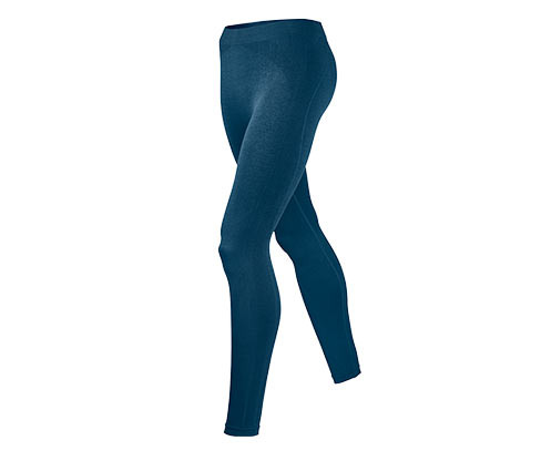 Blue seamless pantyhose showing images for
