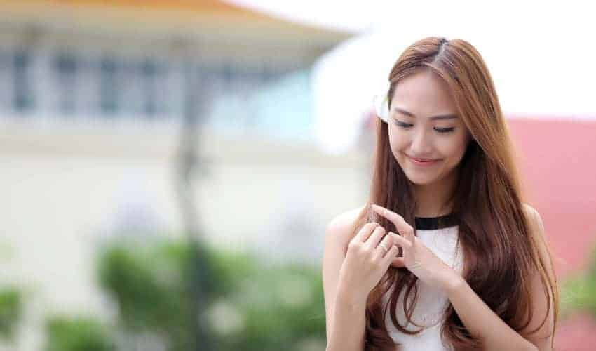 Young passionate best baby face girl photo 2