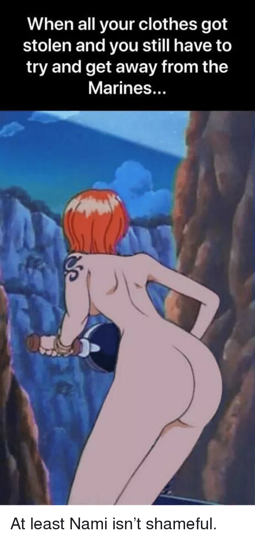 Shaved show me some nami one