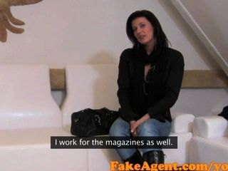 Ass magazines fakeagent horny tanned the