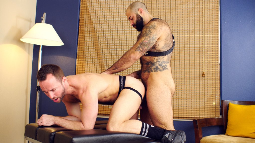 Showing my wife on hairy
