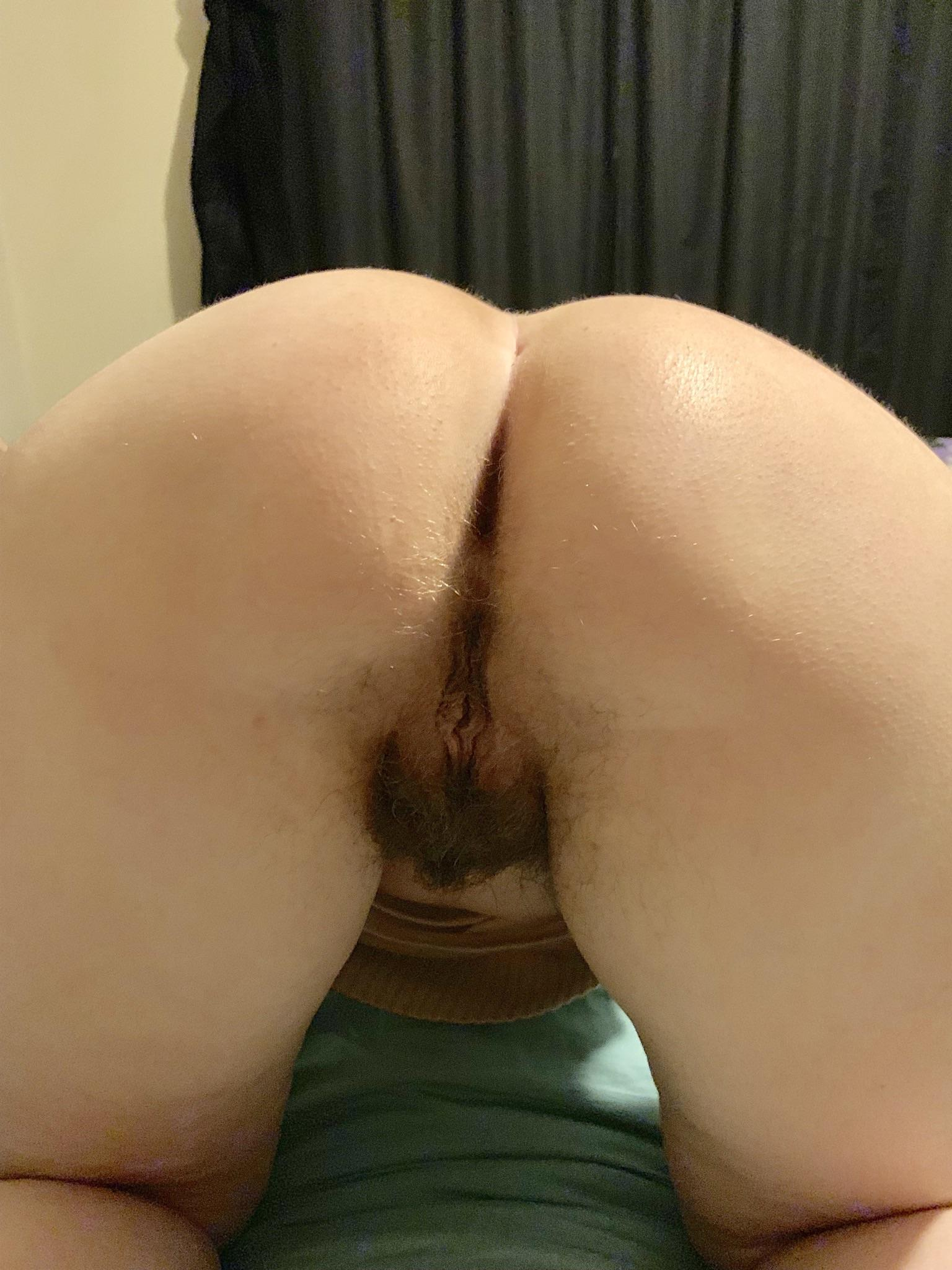 Showing my wife on hairy photo 4