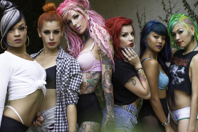 What is sexy sorority sisters suicide girls photo 2
